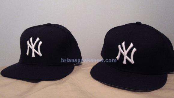NY Yankees hat comparison ~ Original vs. Retro  989a794267d3