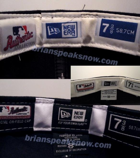 333c2f358e88e NY Yankees hat comparison ~ Original vs. Retro   BRIAN SPEAKS NOW